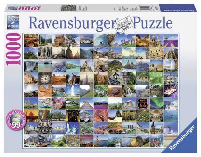 Rompecabezas 1000 piezas Lugares del Mundo