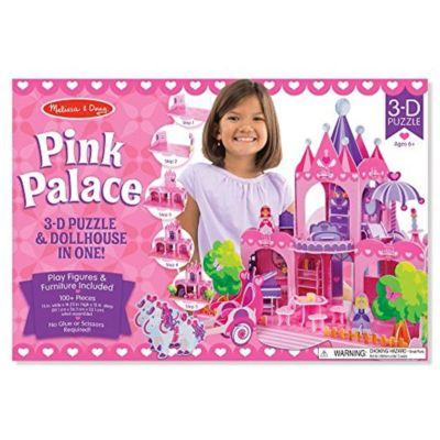 Rompecabeza 3D 100 piezas Palacio Rosado