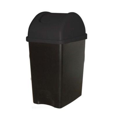 Papelera 35 L Negro