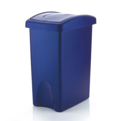Papelera 35 L Azul