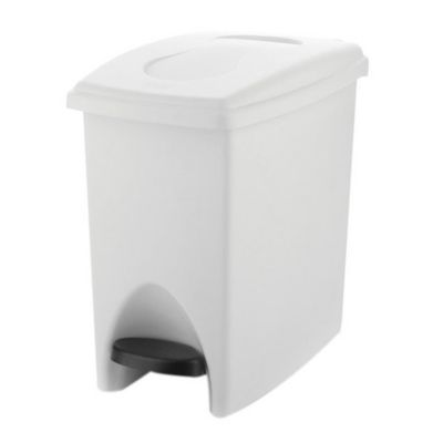 Papelera Pedal 10 L Blanco