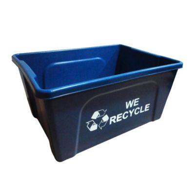 Contenedor para Reciclaje de Papel A4 Azul