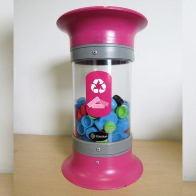 Contenedor para Reciclaje Múltiple 5 L Magenta