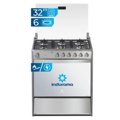 Cocina a Gas 6 Hornillas Padova