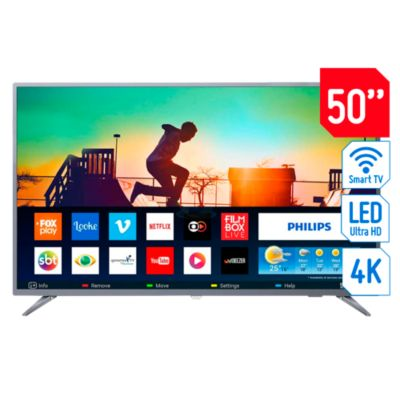 Televisor Smart LED 4K Ultra HD 50'' 50PUD6513