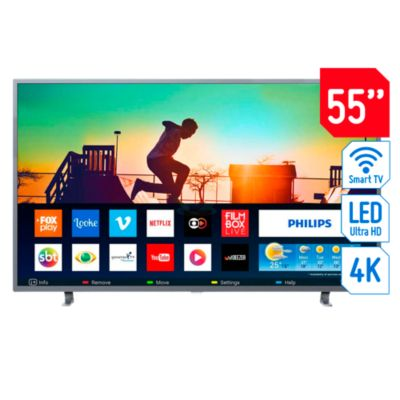 Televisor Smart LED 4K Ultra HD 55'' 55PUD6703
