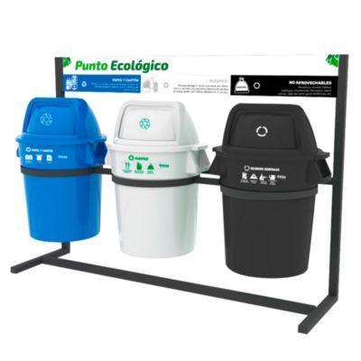Kit Punto Ecológico 121L  - 3 Cuerpos