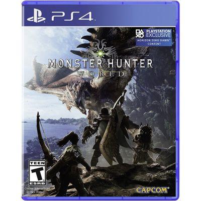 Monster Hunter World PlayStation 4