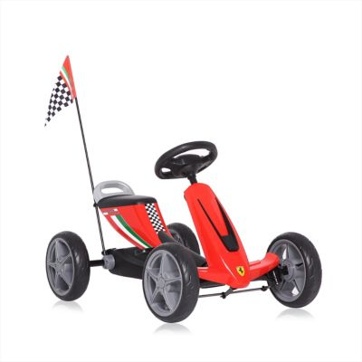 Go Kart a Pedal Ferrari  Rojo