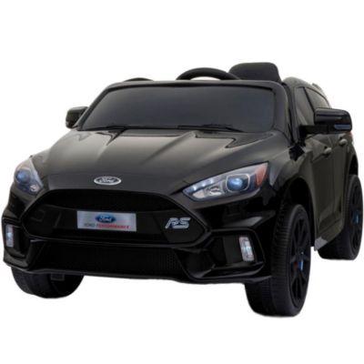 Auto a Batería Ford Focus RS 2019 Radio FM y USB Negro Mate