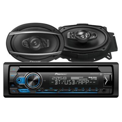Autoradio Bluetooth/CD/USB/AUX + 2 Parlantes DEH-S4150BT