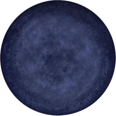 Plato Melamina Azul 22.3cm