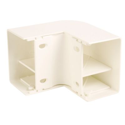 Accesorio Ángulo Externo 60 x 40 mm ABS-PC Blanco