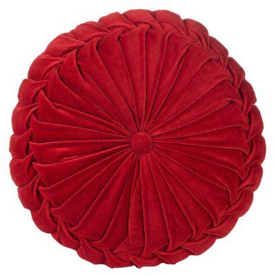 Cojín Velvet Rojo 40x10cm