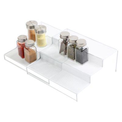 Set x2 Organizador Expandible Blanco 3 Niveles