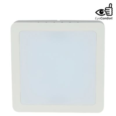 Downlight Adosable Cuadrado 15W Luz Fría