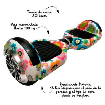 Scooter Smart Wheel C1  Bluetooth Flores