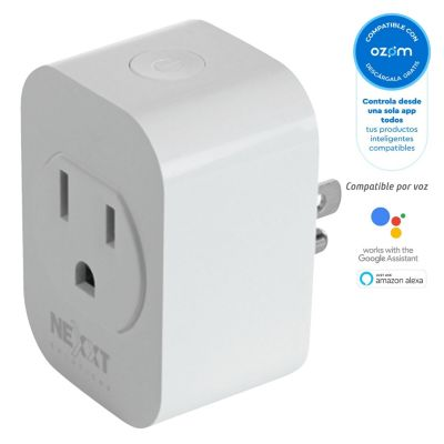 Tomacorriente Smart Wifi Blanco