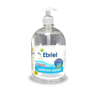 Jabón Antibacterial Líquido Ebriel 1L