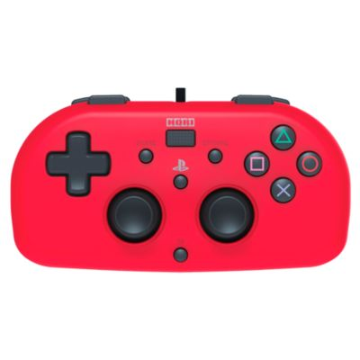 Wired Mini Game Pad PS4 Rojo