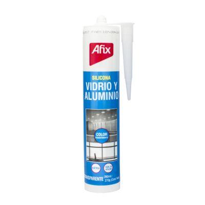 Silicona Acética Vidrio y Aluminio Transparente 280ml