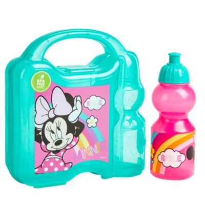 Set Hermético + Botella 350ml Minnie