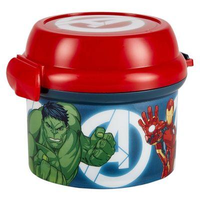Porta Snack 280ml Avengers