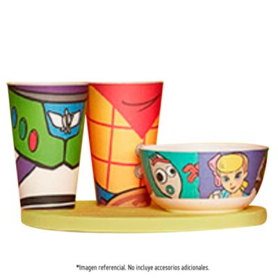 Vaso Bamboo 400ml Toy Story