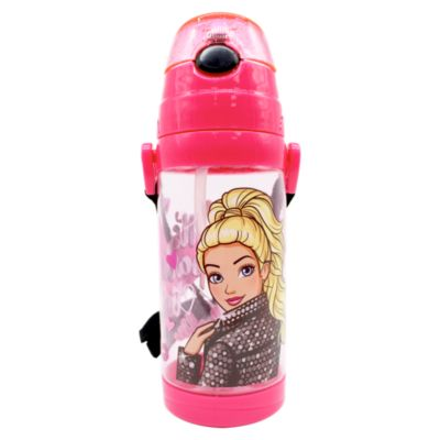 Botella Tritan Barbie 500ml Rosada