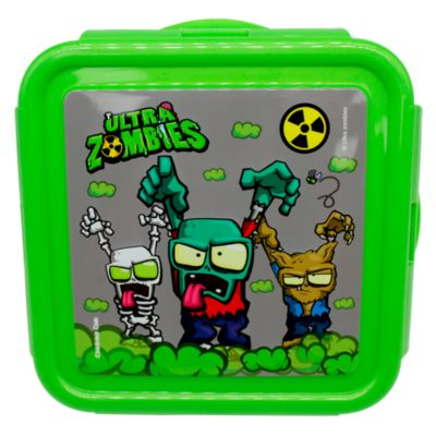Táper Cuadrado 0.5L Ultra Zombies 1