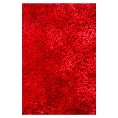 Alfombra Soft Collection Red 170x120cm