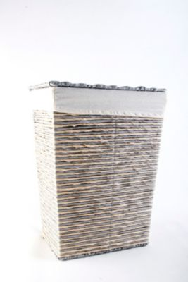 Cesta Stripes Rectangular Chica 42x31x22cm
