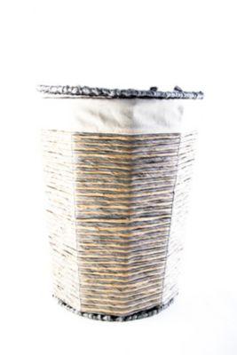 Cesta Stripes Redonda Grande 52x43x43cm