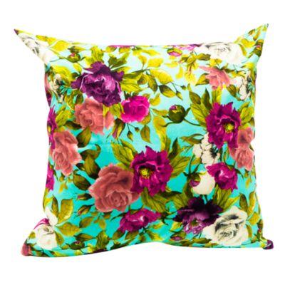 Cojín Decorativo Soft Flores Morado