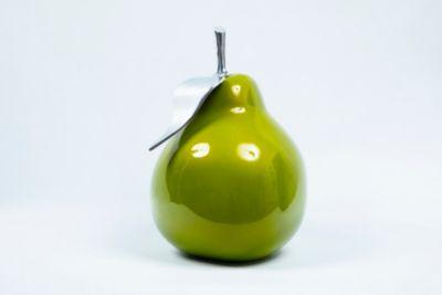 Fruta Pera Verde Metaliz