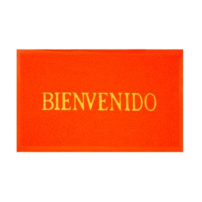 Felpudo Bienvenido Rojo 58x38cm