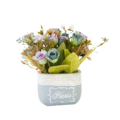 Flores Artificiales Stone Lila 17cm