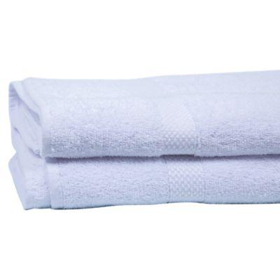Toalla Blanca Basic 75x1.35cm