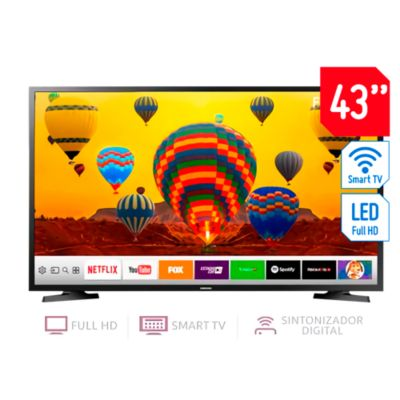 "Televisor Smart LED Full HD 43"" UN43J5202"