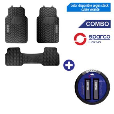Set de Pisos 3 Piezas + Cubrevolante y Cinturón de Seguridad