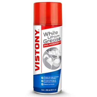 Spray Grasa Lithium White para Auto 296 ml