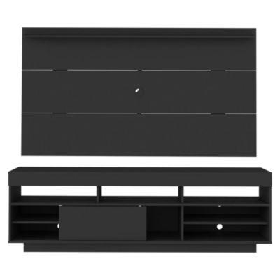 Panel TV Slim Plus Negro 65''
