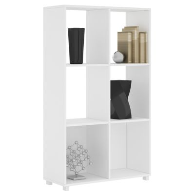 Estante blanco 6 espacios