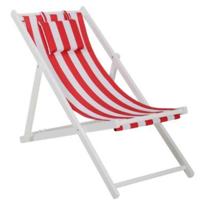 Silla de Playa Creta Rojo