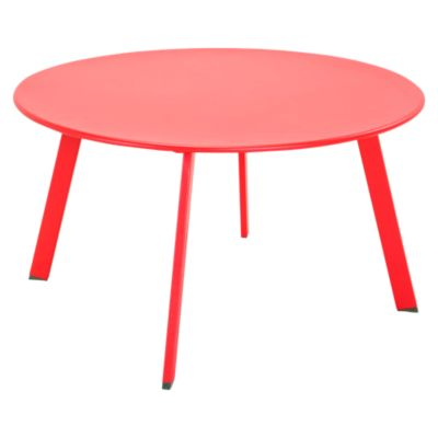 Mesa de Centro 70x40cm Rojo