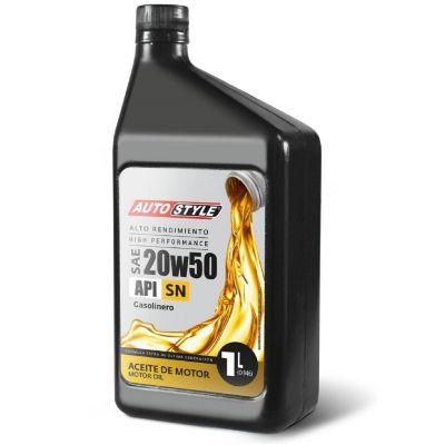 Aceite para Motor SAE 20W50 1 Litro