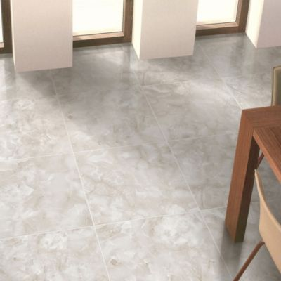 Porcelanato Onice Grey Smart-tile Liso 60x60cm para piso o pared