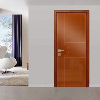 Puerta Interior Lima HDF 65 x 207 x 4 Marrón