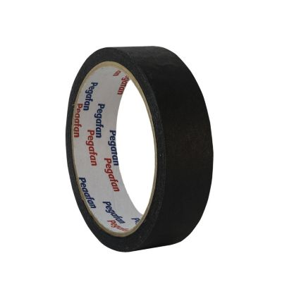 Masking Tape Escolar Negro 24mm x 18m