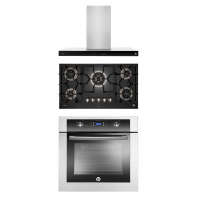 Tricombo Campana 89.8cm CGP9019P6Y + Cocina 5 Quemadores PGP95KBG0 + Horno Empotrable HG6045EYAI2